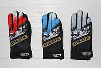 Спортивные мужские перчатки одинарные оптом