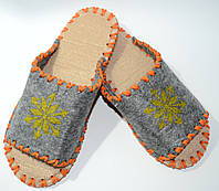 Женские тапочки из войлока, размер 38-39, фото 1