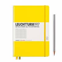 Блокнот Leuchtturm1917 Средний (A5) Лимонный в Линейку (14,5х21 см) (344798), фото 1