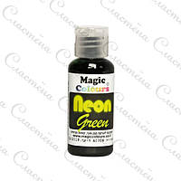 Неоновый пищевой гелевый краситель Magic Colours Neon 32 г - Зелёный