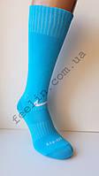 Гетры футбольные Nike голубые