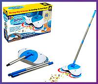 Механическая щётка веник швабра для уборки пола Hurricane Spin Broom