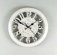 Настенные часы, 28 см (арт. 068A/white)