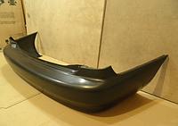 Бампер задний SDN без шины черный (Т150) Daewoo Lanos 98-