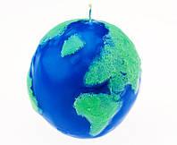 Свеча глобус ( свеча земной шар )