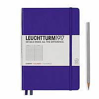 Блокнот Leuchtturm1917 Средний (A5) Пурпурный В клетку (14,5х21 см) (346686), фото 1