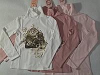 Гольф трикотажный с микроначесом школьный для девочки р.134/140-158/164 Lemon Tree