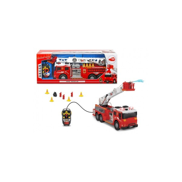 Пожарная машина на ДУ Dickie Toys со звуком и светом