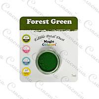 Cухой пудровый краситель Magic Colours 7 г - Зелёный Лес