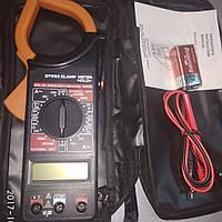 Мультиметр цифровой, мультитестер,Токовые клещи DT 266