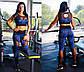 """Женский стильный костюм для фитнеса 366 """"Камуфляж Сетка"""" в расцветках, фото 2"""