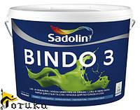 Краска для стен Sadolin BINDO 3 /2,5л