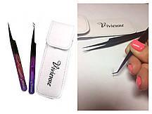 """Набор пинцетов """"пурпурное сияние"""" от  """"Vivienne"""""""