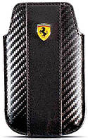 Чехол-футляр Ferrari для Apple iPhone 3G & 4G, черный