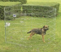 Savic ДОГ ПАРК (Dog Park) вольер для щенков, цинк, 8 панелей , 61Х91 см