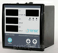 Мультиметр щитовий цифровий амперметр+вольтметр+частотомір електронний ціна купити, фото 1