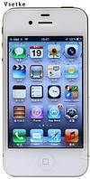 Apple iPhone 4S Оригинальный мобильный телефон 16 ГБ 3G WI-FI GPS 8MP 1080 P IPS, фото 1