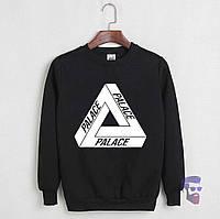 Свитшот чёрный | Кофта Palace logo