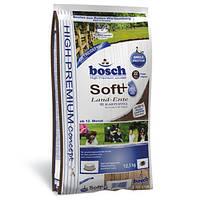 Сухой корм для собак Bosch (Бош) SOFT Land-Ente & Kartoffel (утка+картофель), 2,5 кг.
