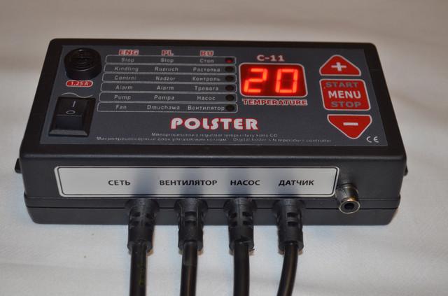 Блок управления Polster c гнездом под комнатный термостат