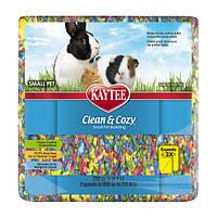 Kaytee КЛИН КОЗИ (Clean&Cozy) BirthdayCake подстилка из целлюлозы для грызунов, кейк 4,1л