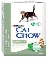 Cat Chow (Кэт Чау) Sterilized 15кг - корм для стерилизованных и кастрированых котов