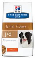 HILL'S (Хилс) Prescription Diet Canine j/d - лечебный корм для собак, профилактика и лечение артритов 2 кг