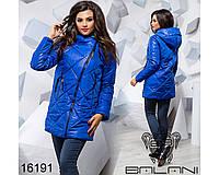 Удлиненная женская куртка - 16191