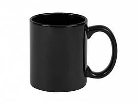 Чашка для сублимации хамелеон Full Black 330 мл (МАТОВЫЙ)