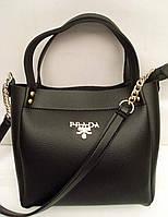 Женская сумка Prada Прада черная арт 07028