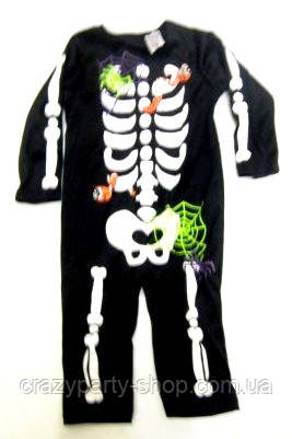 Карнавальный костюм Скелетик 1-1,5 года
