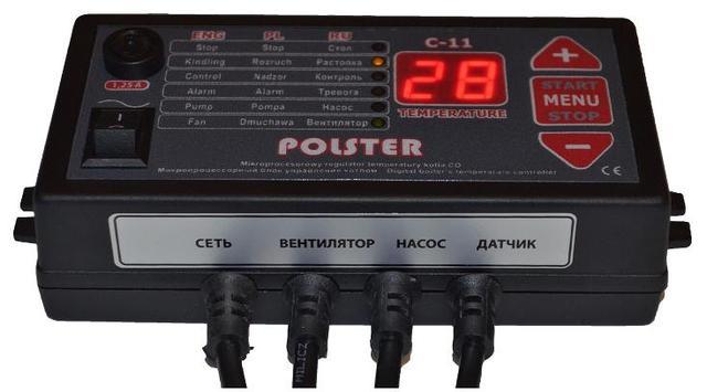 Автоматика для твердотопливного котла Polster C-11