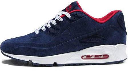 Зимние мужские кроссовки Nike Air Max 90 VT Blue Winter Edition, найк, айр макс. ТОП Реплика ААА класса., фото 2