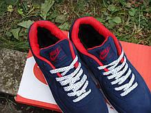 Зимние мужские кроссовки Nike Air Max 90 VT Blue Winter Edition, найк, айр макс. ТОП Реплика ААА класса., фото 3