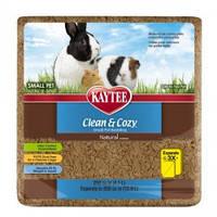 Kaytee КЛИН КОЗИ (Clean&Cozy) Natural подстилка из целлюлозы для грызунов, натурал 4л