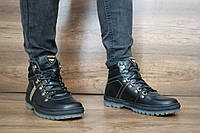 Мужские зимние ботинки PAV 10011 черные