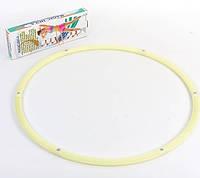 Обруч массажный светящийся Hula Hoop LUMINOUS 1,05кг(d90) HR-057R