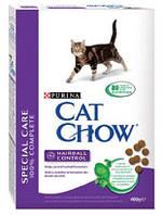 Cat Chow (Кэт Чау) Hairball Control 15кг - профилактический корм для кошек предотвращающий образование волосяных комочков