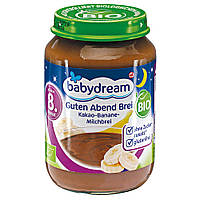 "Babydream Bio Guten Abend Brei ""Kakao-Banane-Milchbrei""  Био каша  Добрый вечер! ""какао-банан-молочный пудинг"""