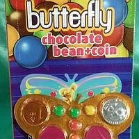 Шоколадная Бабочка драже блистер 48 шт (Prestige)