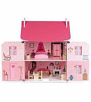 Деревянный кукольный домик Mademoiselle Doll's House JANOD J06581