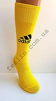 Гетры футбольные Adidas желтые