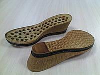 Подошва для вязанной обуви Танкетка р.37