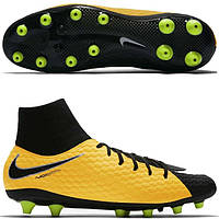 Футбольные мужские бутсы Nike Hypervenom Phelon III DF AG-Pro