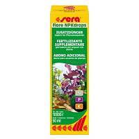 Sera flore NPKdrops - добрива для рослин (макроелементи) на 10000 л 50 мл