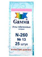 GAMMA Игла острая гобеленовая №13 N-260