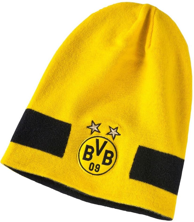 Двухсторонняя шапка Puma BVB Performance Beanie 021037-01 - City-Sport -  интернет магазин ea5315303ed