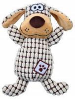 TRIXIE TX-35977 Игрушка для собак TRIXIE - Cобака клетчатая, 26см