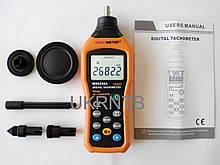 Тахометр контактный MS6208A 50-19999 об./мин. / Тахометр электронный / Тахометр цифровой