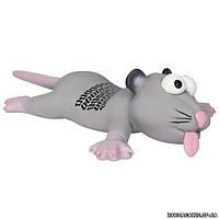 Trixie Латексная игрушка для собак крыса/мышь с языком, 22 см.